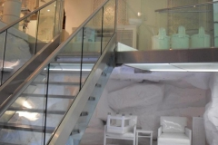 Glass-staircase-retro-fitted-and-bespoke-fitted-with-glass-ball