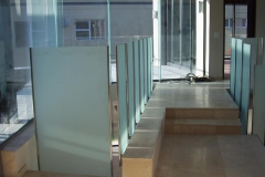 One-of-a-kind-Glass-Ballustrade-frosted-glass-with-ultra-slim-st