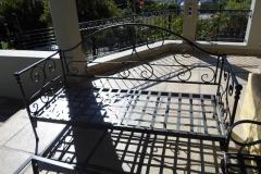Patio-mild-steel-bench
