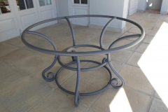 Steel-Round-Table