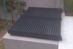 Alluminium-pool-pump-cover-lid-closed