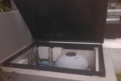 Alluminium-pool-pump-cover-lid-open2