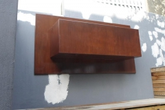 Rusty-looking-wall-mount-planter