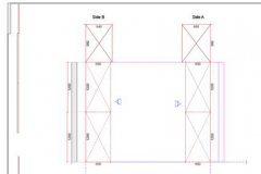 Partial-shop-drawing-for-manufacturing-purposes