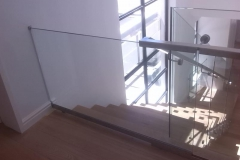 Sliding-Glass-Safety-Gate-at-top-of-staircase