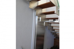 Stainless-Steel-cladding-on-staircase